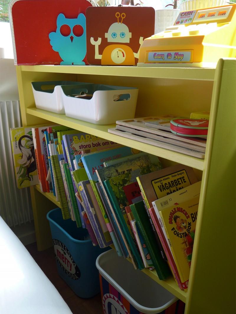 Återbruk av bokhylla